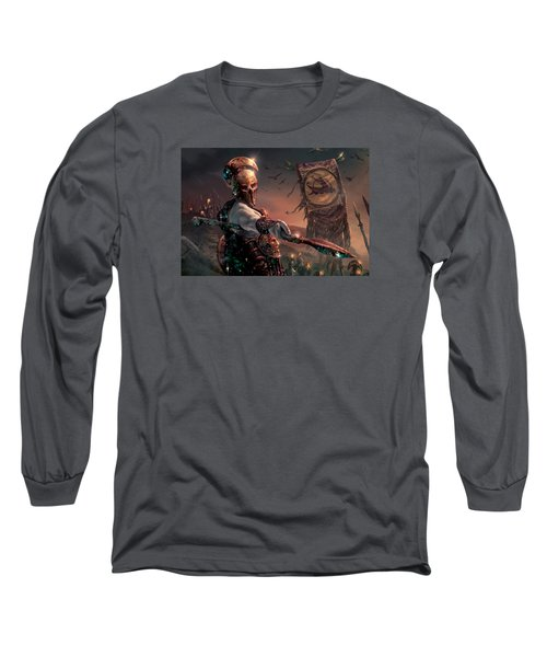 Grim Guardian Long Sleeve T-Shirt