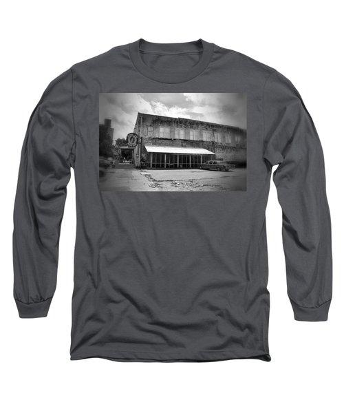 Ground Zero Black And White Long Sleeve T-Shirt