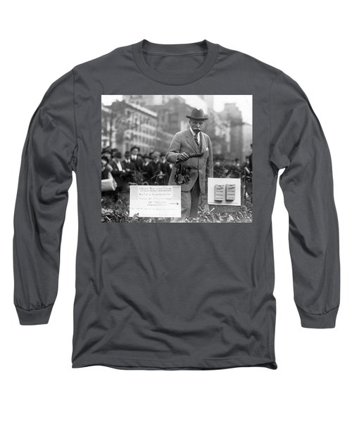 Growing Sugar In New York City Long Sleeve T-Shirt