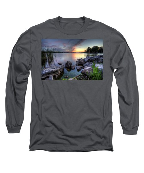 Guilford Lake Sunset Long Sleeve T-Shirt