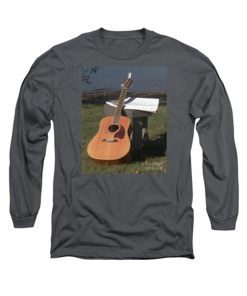 Guitar Solo Long Sleeve T-Shirt