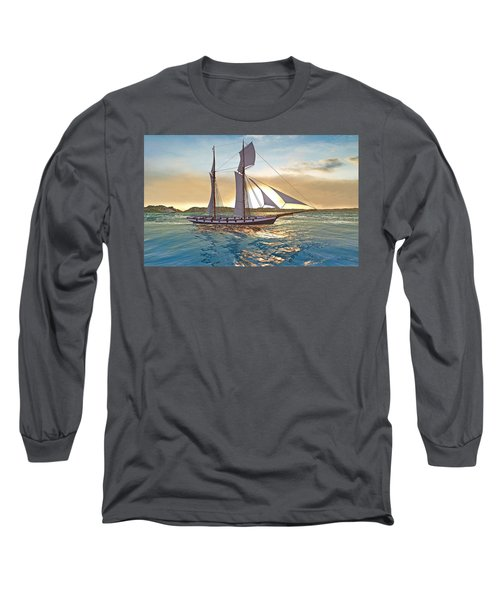 Gulf Of Mexico Area In The World Playground Scenery Project  Long Sleeve T-Shirt