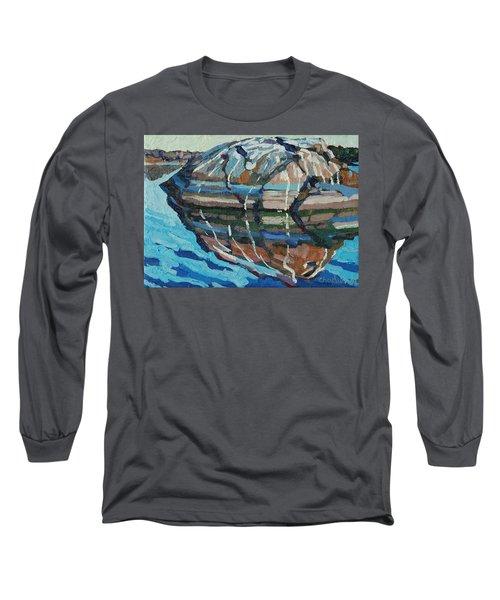 Gull Rock Long Sleeve T-Shirt by Phil Chadwick