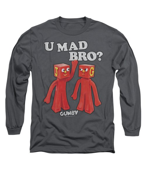 Gumby - U Mad Bro Long Sleeve T-Shirt