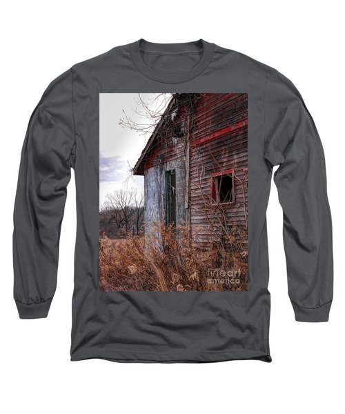 Half Long Sleeve T-Shirt