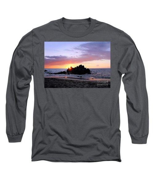 Long Sleeve T-Shirt featuring the photograph Hali A Aloha by Ellen Cotton