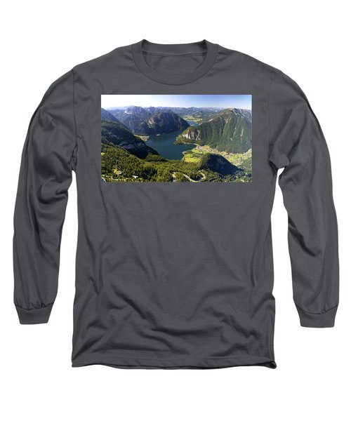 Hallstatt Lake Austria Long Sleeve T-Shirt