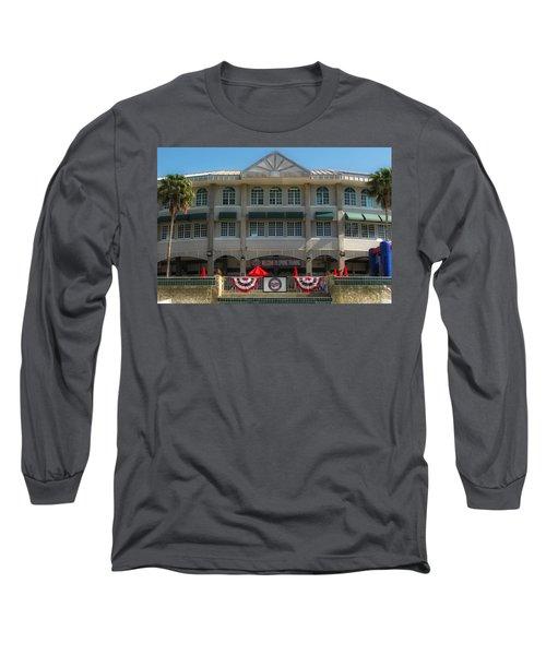 Hammond Stadium Long Sleeve T-Shirt by Tom Gort