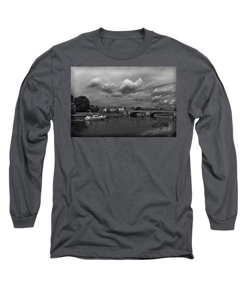 Hampton Bridge Long Sleeve T-Shirt by Maj Seda