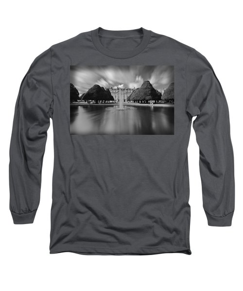 Hampton Court Palace Long Sleeve T-Shirt by Maj Seda