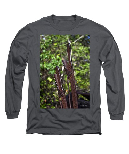 Hand Levers Long Sleeve T-Shirt
