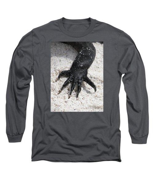 Hand Of A Marine Iguana Long Sleeve T-Shirt