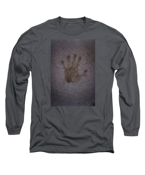 Hand Of Hope Long Sleeve T-Shirt by Joel Loftus