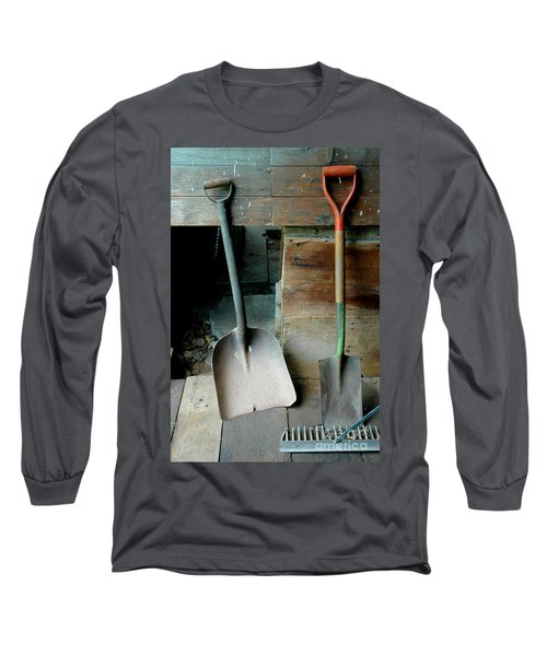 Long Sleeve T-Shirt featuring the photograph Handled And Raked by Christiane Hellner-OBrien