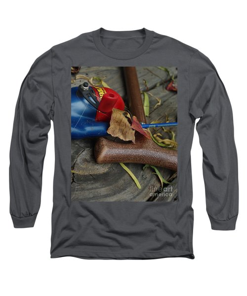 Handled With Care Long Sleeve T-Shirt by Peter Piatt