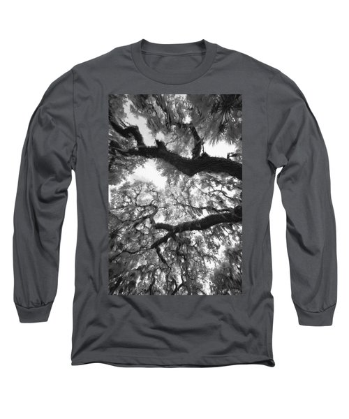 Hanging Moss Long Sleeve T-Shirt by Bradley R Youngberg