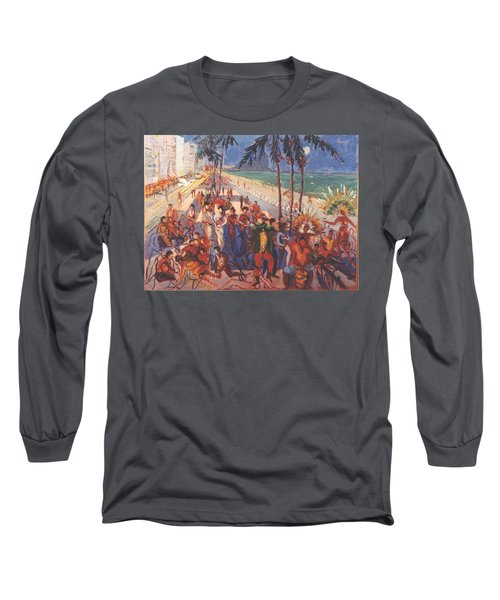 Happening Long Sleeve T-Shirt by Walter Casaravilla