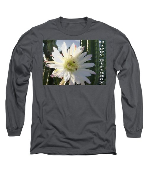 Long Sleeve T-Shirt featuring the photograph Happy Birthday Card And Print 9 by Mariusz Kula