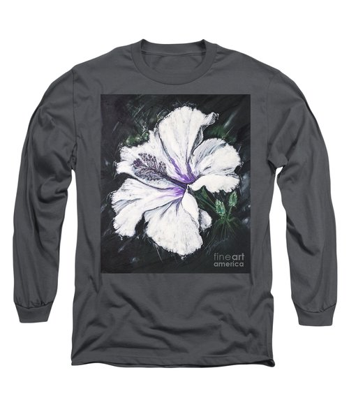 Happy Hibiscus Long Sleeve T-Shirt