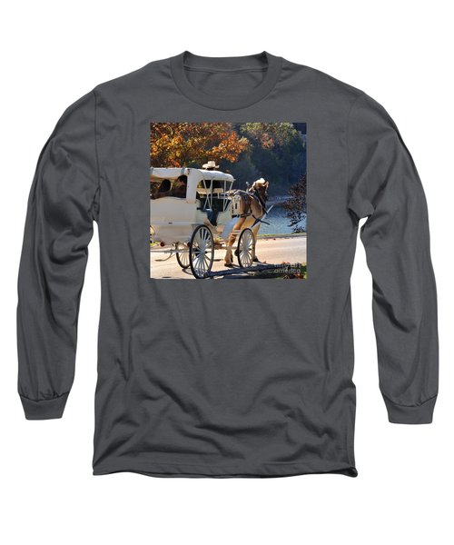 Happy Trails  Long Sleeve T-Shirt by Nava Thompson