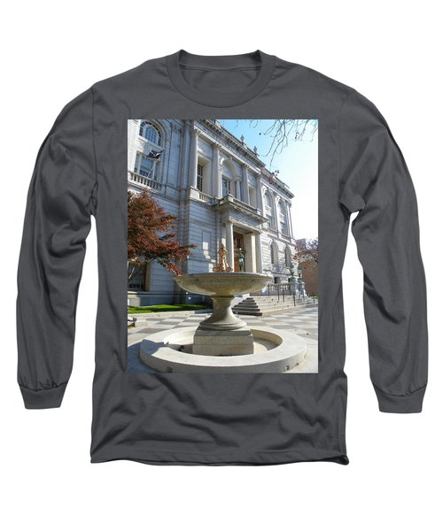 Hartford Historical Building Long Sleeve T-Shirt