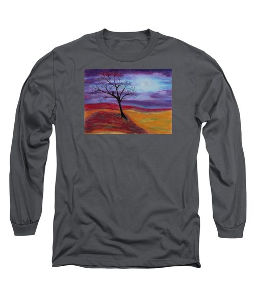 Harvest Moon 2 Long Sleeve T-Shirt by Jeanne Fischer