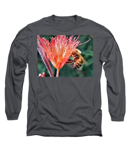 Long Sleeve T-Shirt featuring the photograph Harvesting by Deb Halloran