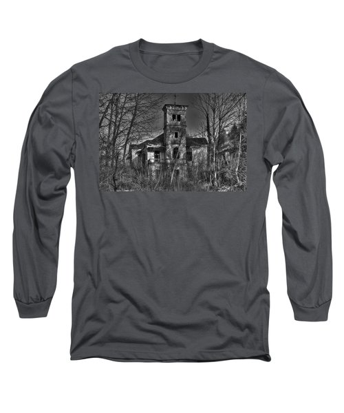 Haunted House Long Sleeve T-Shirt