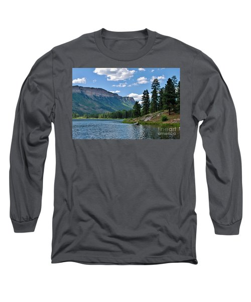 Long Sleeve T-Shirt featuring the photograph Haviland Lake by Janice Rae Pariza