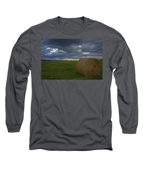 Hay Bail Long Sleeve T-Shirt