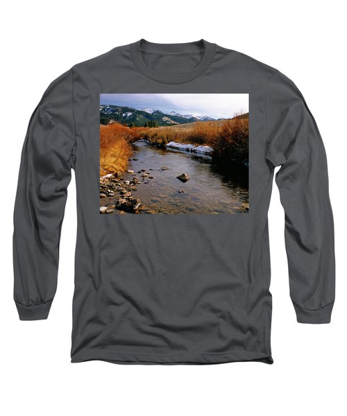 Headwaters Of The River Of No Return Long Sleeve T-Shirt