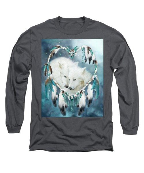 Heart Of A Wolf Long Sleeve T-Shirt