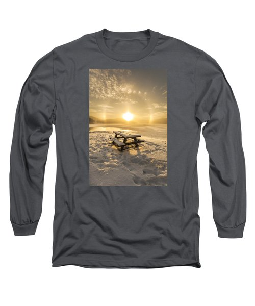 Long Sleeve T-Shirt featuring the photograph Heavenly Sleep by Rose-Maries Pictures