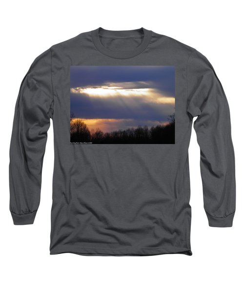 Heavenly Sunset Long Sleeve T-Shirt by Nick Kirby