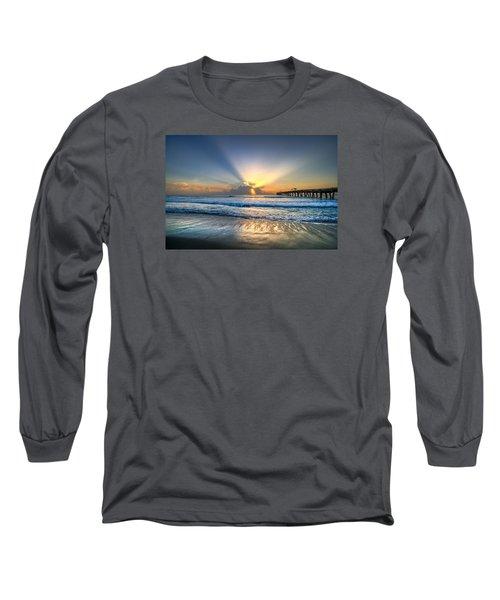 Heaven's Door Long Sleeve T-Shirt by Debra and Dave Vanderlaan