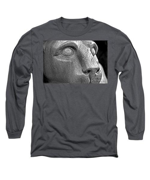 Heinz Warneke's Mountain Lion Long Sleeve T-Shirt
