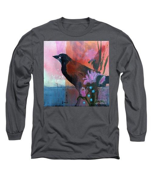Hello Crow Long Sleeve T-Shirt