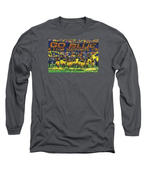 Here We Come Long Sleeve T-Shirt by John Farr