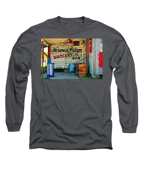 Herman Had It All Long Sleeve T-Shirt by Steve Harrington
