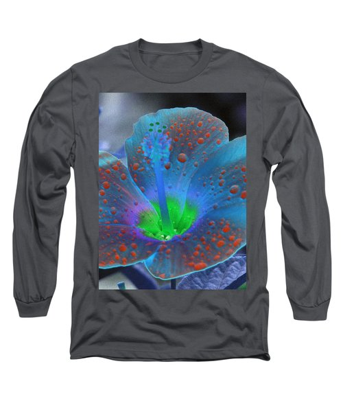 Hibiscus - After The Rain - Photopower 775 Long Sleeve T-Shirt