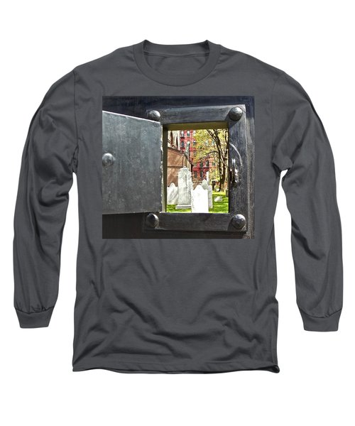 Long Sleeve T-Shirt featuring the photograph Hidden New York by Joan Reese