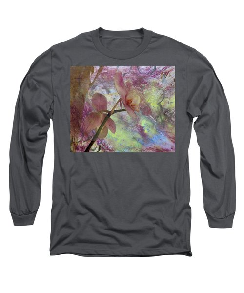 Hidden Orchid Long Sleeve T-Shirt