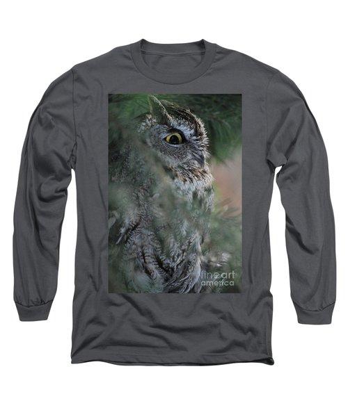 Hidden Long Sleeve T-Shirt by Sharon Elliott