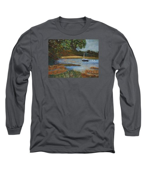 Hospital Cove Long Sleeve T-Shirt by Michael Helfen
