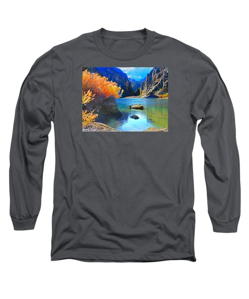 Hikers Haven Two Long Sleeve T-Shirt by Alan Socolik