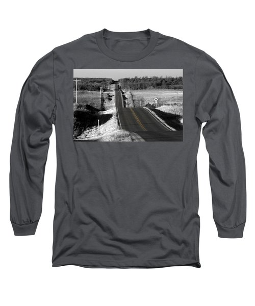 Hilly Ride Long Sleeve T-Shirt by Brian Duram