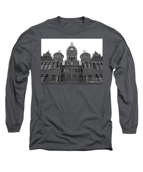 Long Sleeve T-Shirt featuring the photograph Historic Old Red Courthouse Dallas #2 by Robert ONeil