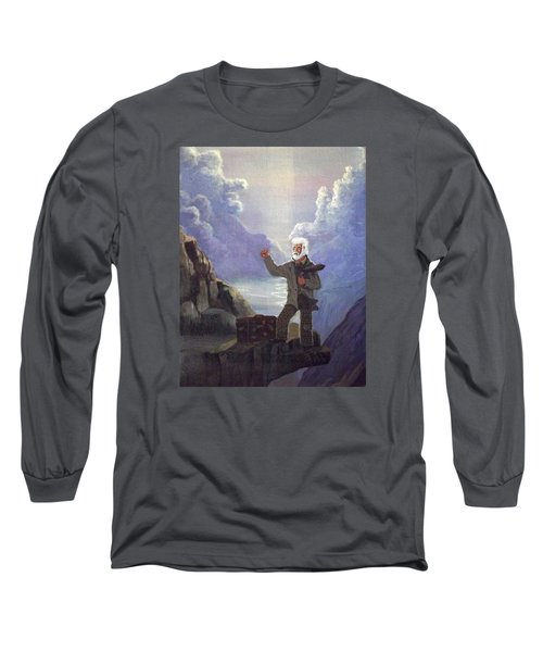 Long Sleeve T-Shirt featuring the painting Hitchhiker by Richard Faulkner
