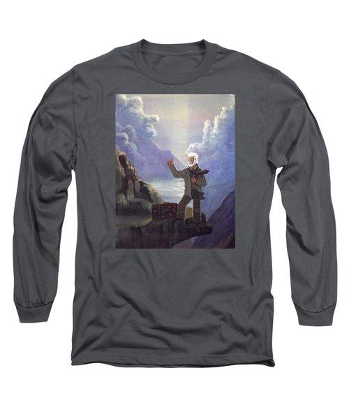 Hitchhiker Long Sleeve T-Shirt by Richard Faulkner