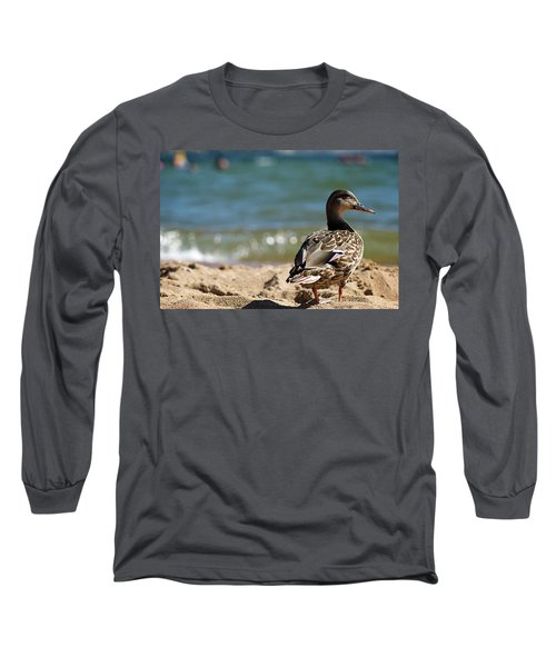 Hitting The Surf Long Sleeve T-Shirt